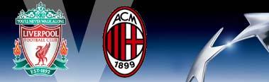 Liverpool versus AC Milan