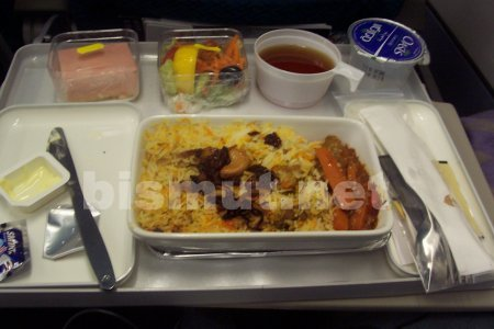 Lunch with Malaysia Airlines